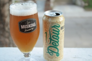 Muskoka Detour in tall cans
