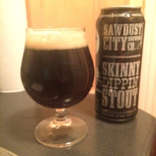 skinny dipping stout